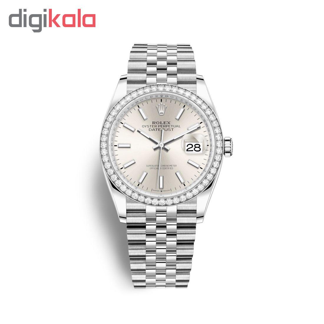 ساعت زنانه برند مدل دیت جاست کد HC2098