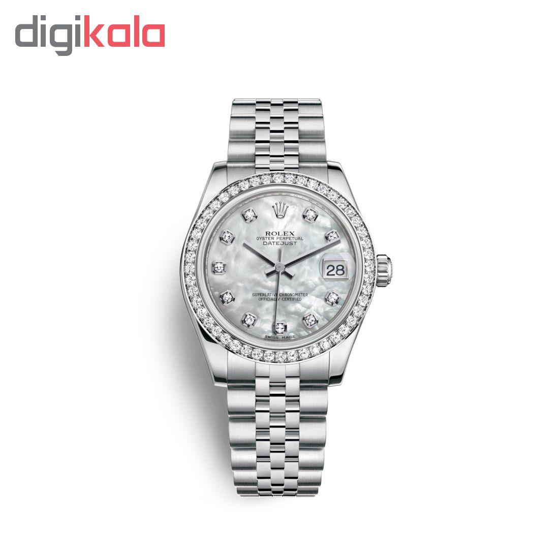 ساعت زنانه برند مدل دیت جاست کد HC2100