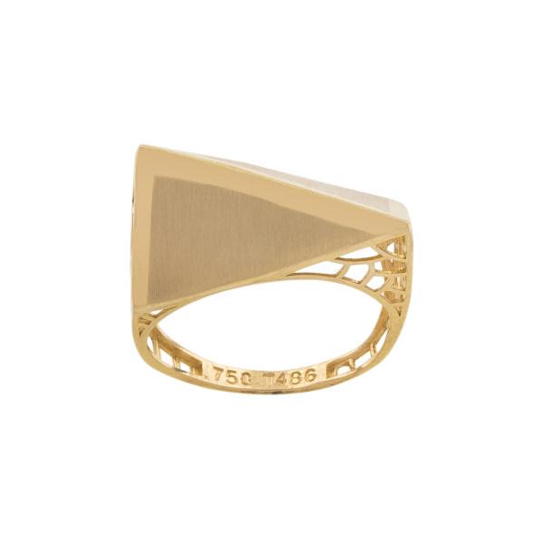 انگشتر طلا 18 عیار زنانه کد R129
