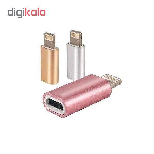مبدل micro USB به لایتنینگ مدل MA main 1 1