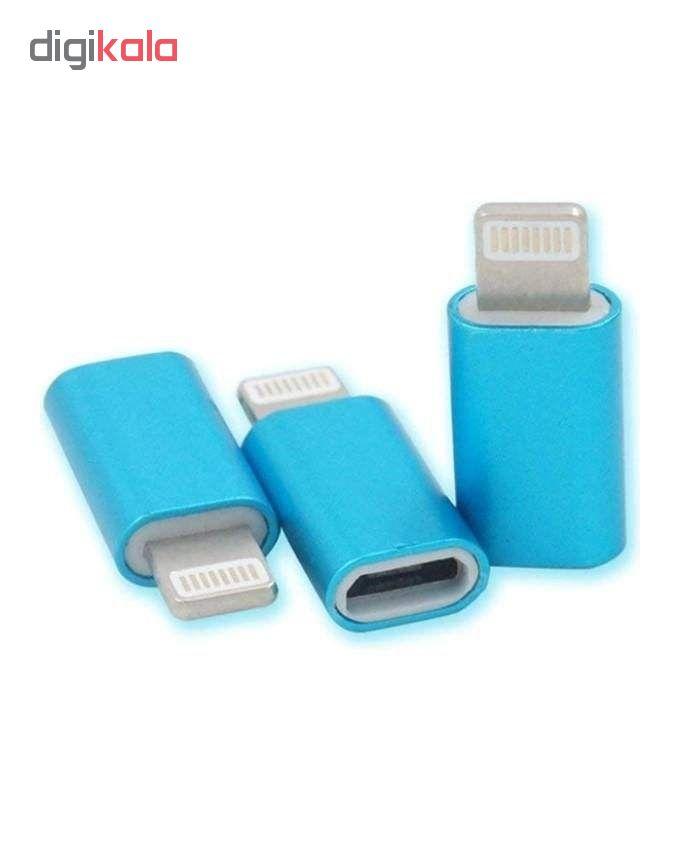 مبدل micro USB به لایتنینگ مدل MA main 1 3