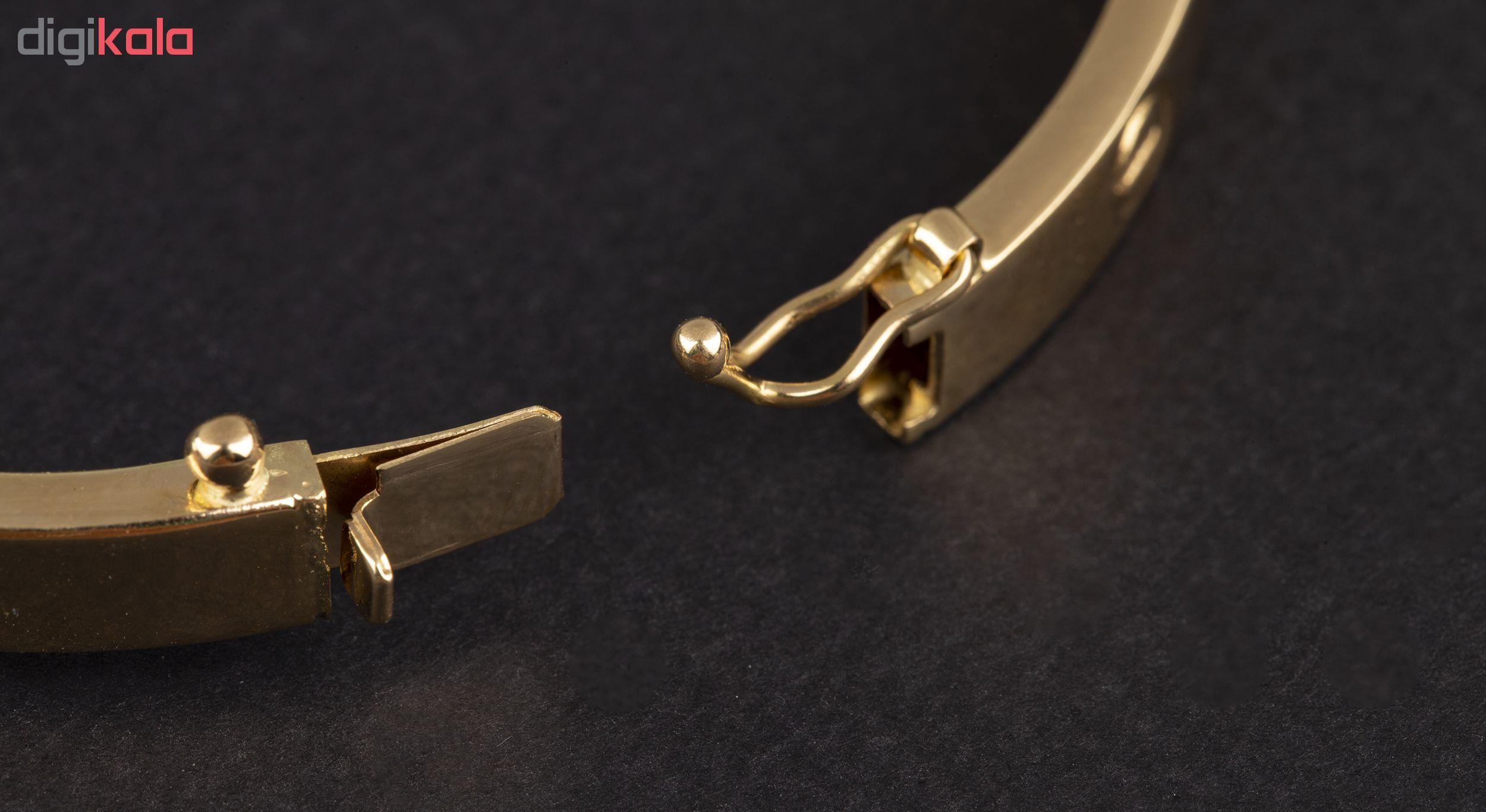 دستبند طلا 18عیار زنانه کد 2-B141 main 1 3