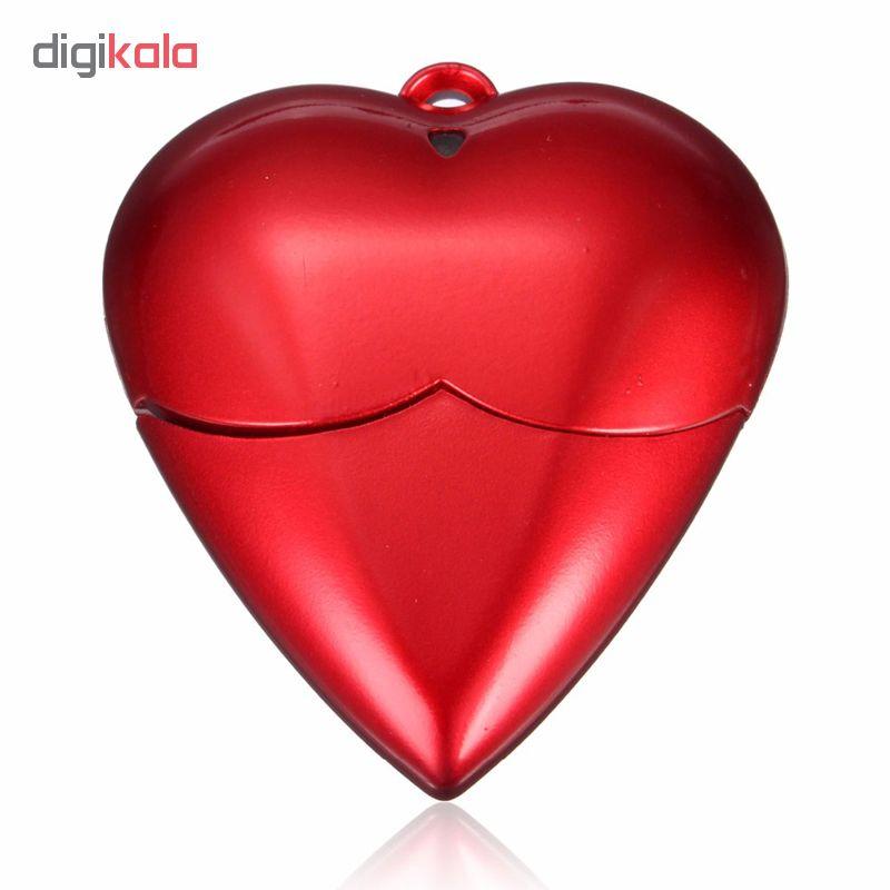 فلش مموری طرح قلب مدل UP-015 ظرفیت 64 گیگابایت