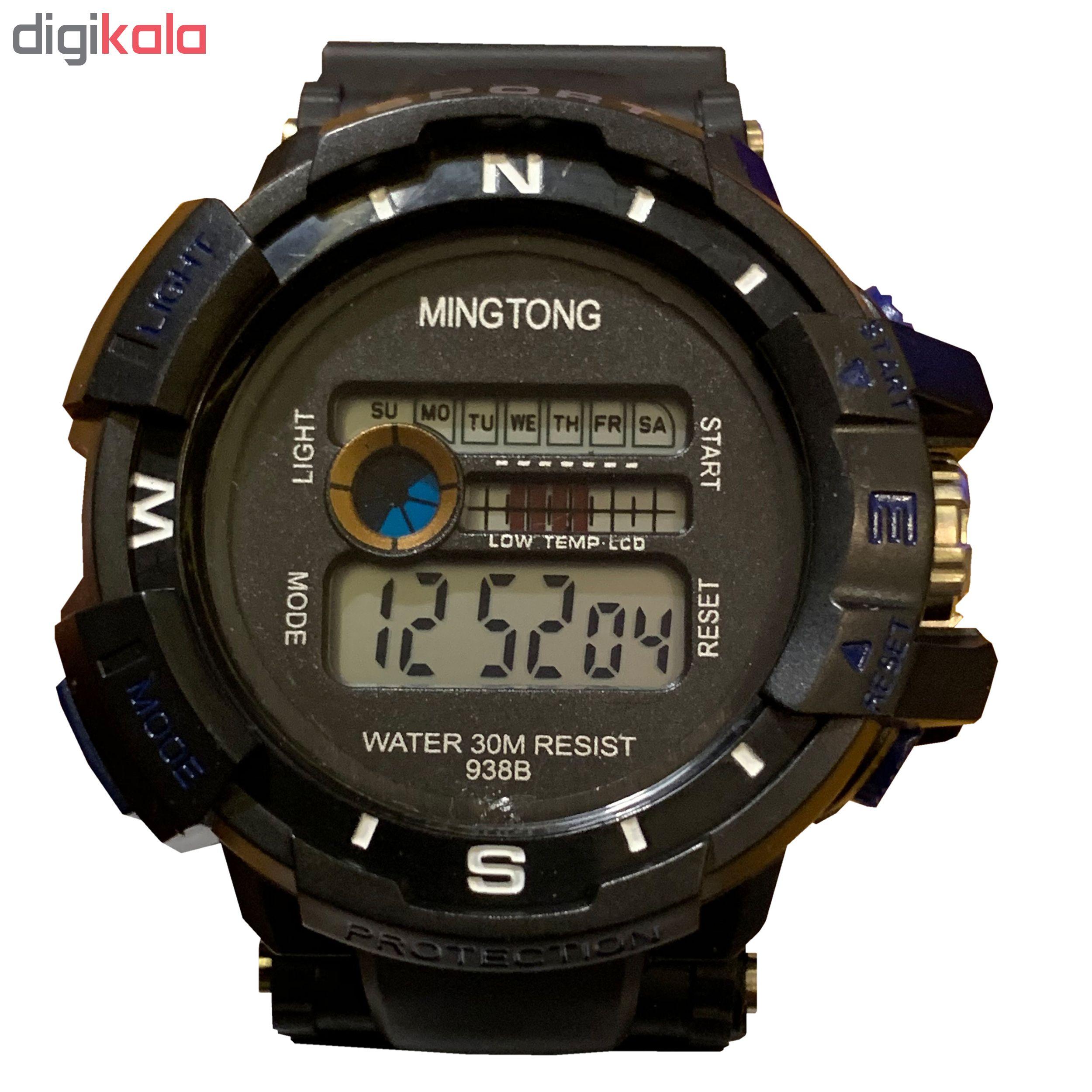 کد تخفیف                                      ساعت مچی دیجیتال مردانه مینگ تانگ کد B20