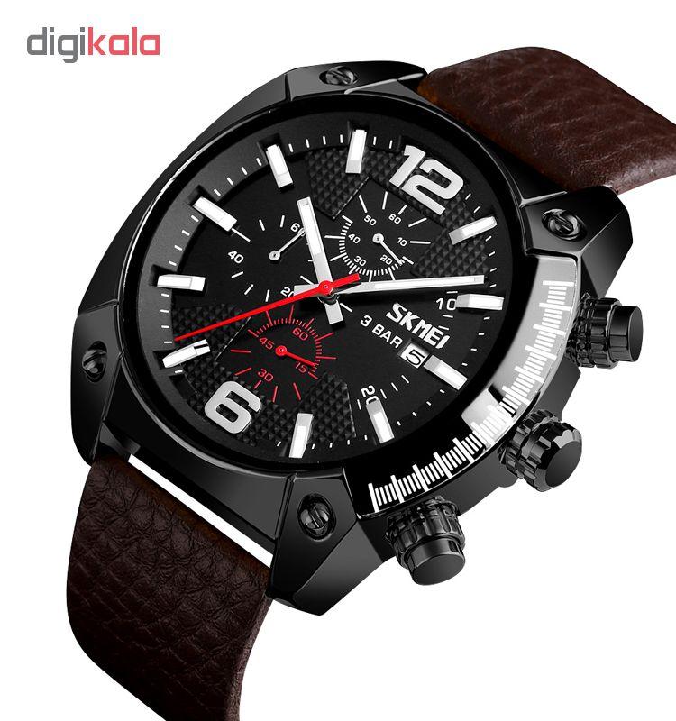 کد تخفیف                                      ساعت مچی عقربه ای مردانه اسکمی مدل 9190M