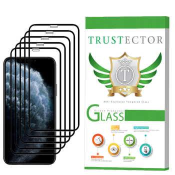 محافظ صفحه نمایش تراستکتور مدل GSS مناسب برای گوشی موبایل اپل iPhone 11 بسته 5 عددی