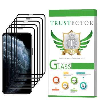 محافظ صفحه نمایش تراستکتور مدل GSS مناسب برای گوشی موبایل اپل iPhone 11 Pro بسته 5 عددی