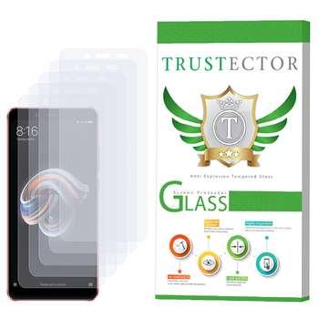 محافظ صفحه نمایش تراستکتور مدل GLS مناسب برای گوشی موبایل شیائومی Redmi Note 5 Pro بسته 5 عددی