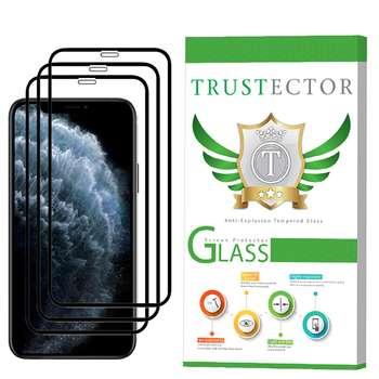 محافظ صفحه نمایش تراستکتور مدل GSS مناسب برای گوشی موبایل اپل iPhone 11 Pro Max بسته 3 عددی
