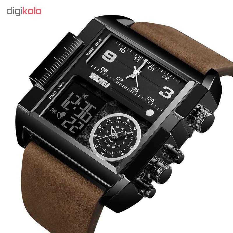 ساعت مچی عقربه ای مردانه اسکمی مدل 1391