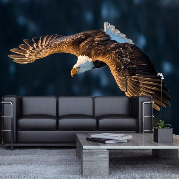 پوستر دیواری سه بعدی طرح عقاب کد AL 1211