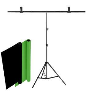 سه پایه فون عکاسی کد T806 به همراه فون عکاسی مدل BG مجموعه سه عددی