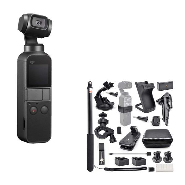 دوربین دی جی آی مدل Osmo Pocket به همراه لوازم جانبی