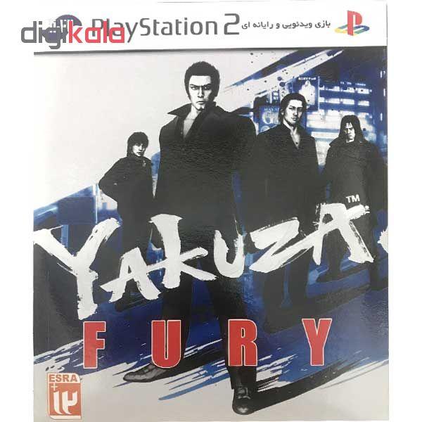 خرید اینترنتی بازی yakuza fury مخصوص ps2 اورجینال