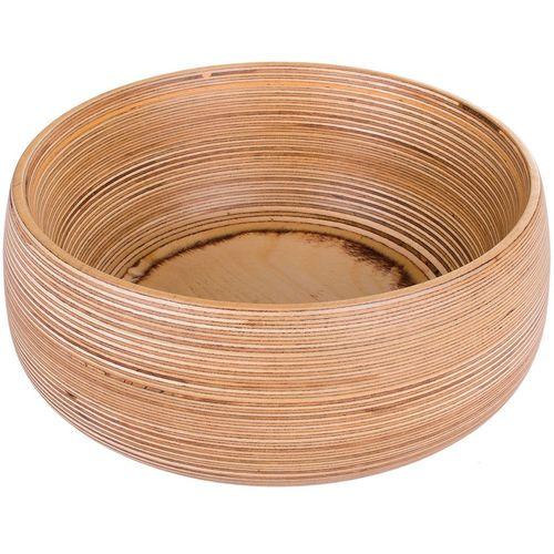 کاسه چوبی کارگاه دکو اکو سایز متوسط