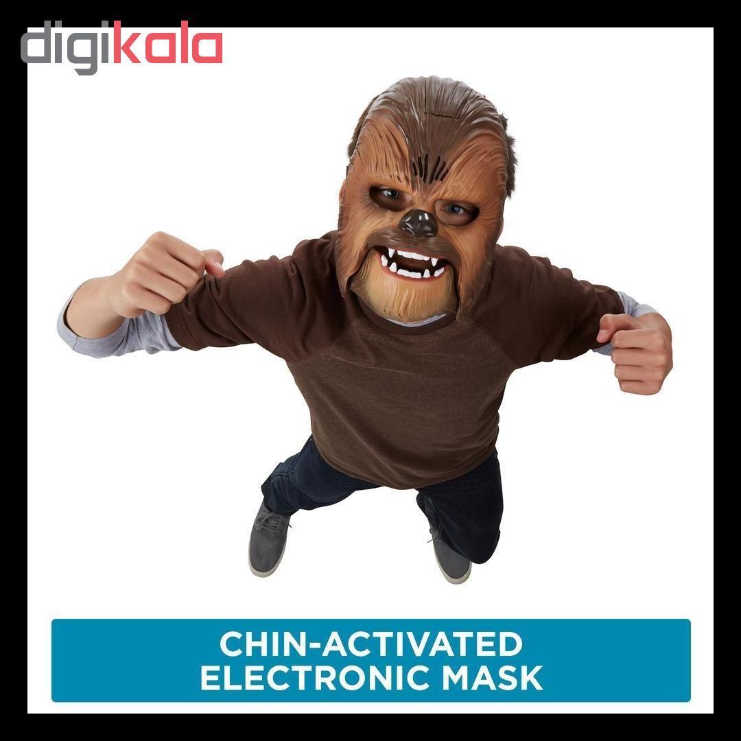 ماسک هاسبرو طرح چوباکا مدل Star Wars