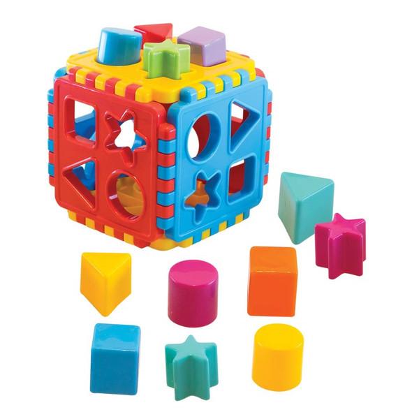 بازی آموزشی دد طرح پازل جورچین اشکال کد 02209