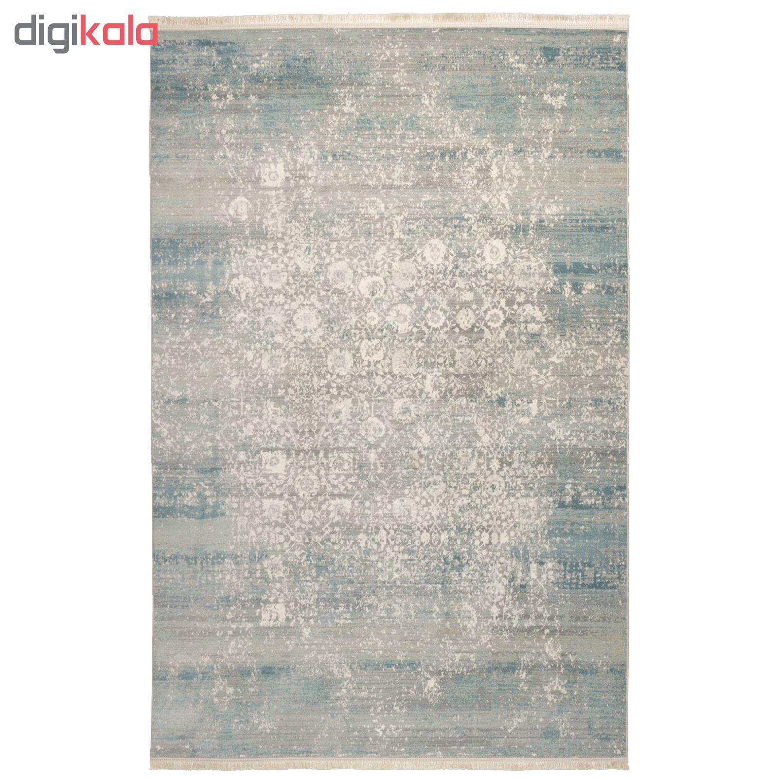 فرش ماشینی محتشم طرح کهنه نما کد 100633 زمینه خاکستری main 1 1