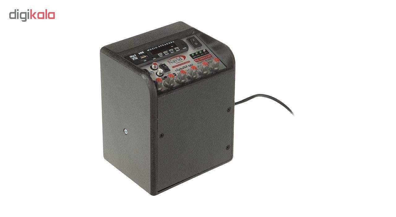 آمپلی فایر نوید الکترونیک مدل PA-M604UBR