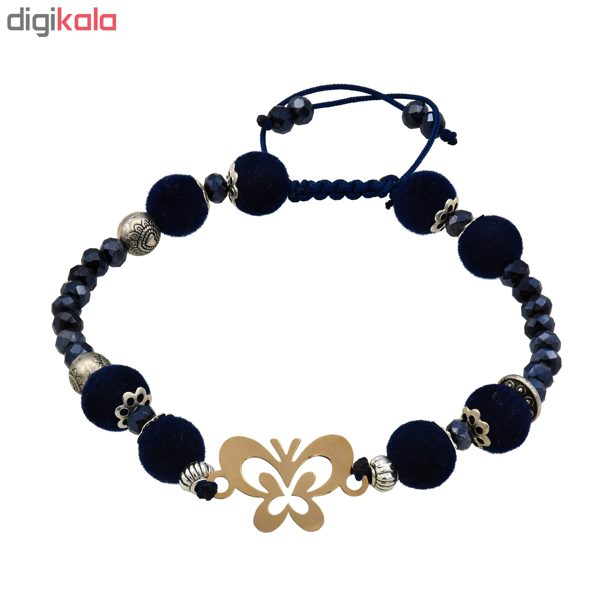 خرید                                      دستبند نقره زنانه کد 476s8