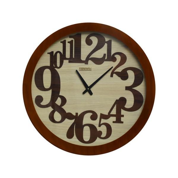 ساعت دیواری ترمه مدل 0029