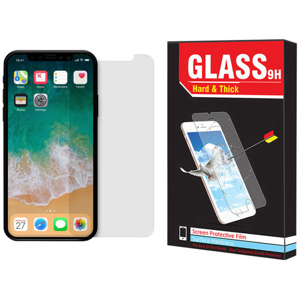 محافظ صفحه نمایش مات Hard and Thick  مدل F-01 مناسب برای گوشی موبایل اپل Iphone 11 pro max