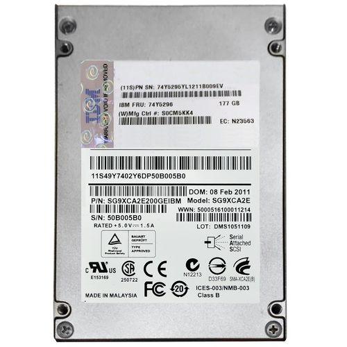 اس اس دی اینترنال آی بی ام مدل SG9XCA2E ظرفیت 177 گیگابایت