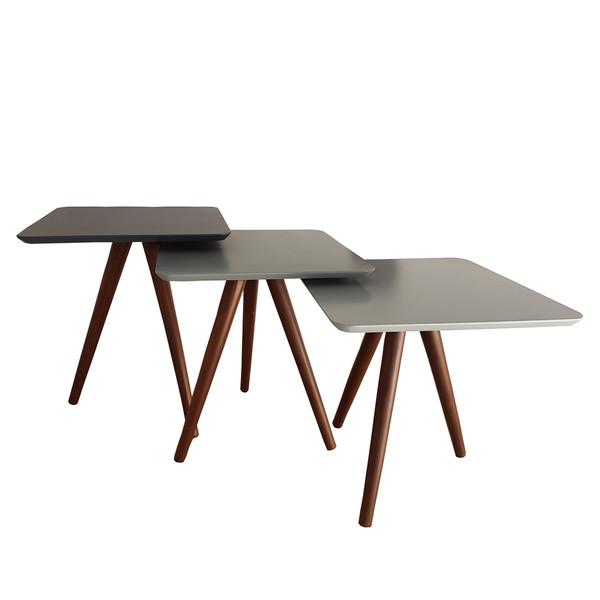 میز عسلی مدل ARM03 مجموعه 3 عددی