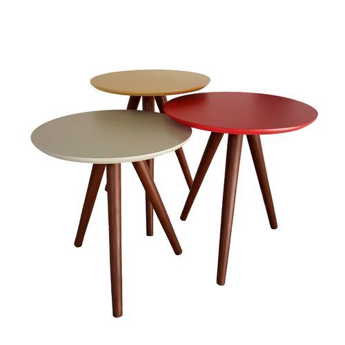 میز عسلی مدل ARTALAIS مجموعه 3 عددی