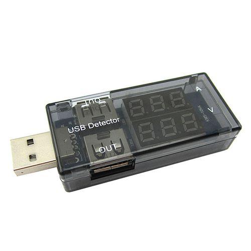 نمایشگر میزان ولتاژ و جریان پورت USB مدل D02