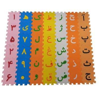 بازی آموزشی مروژ طرح حروف الفبا و اعداد فارسی