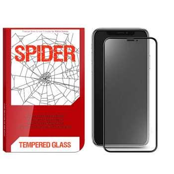 محافظ صفحه نمایش مات اسپایدر مدل S-FG11 مناسب برای گوشی موبایل اپل iPhone 11