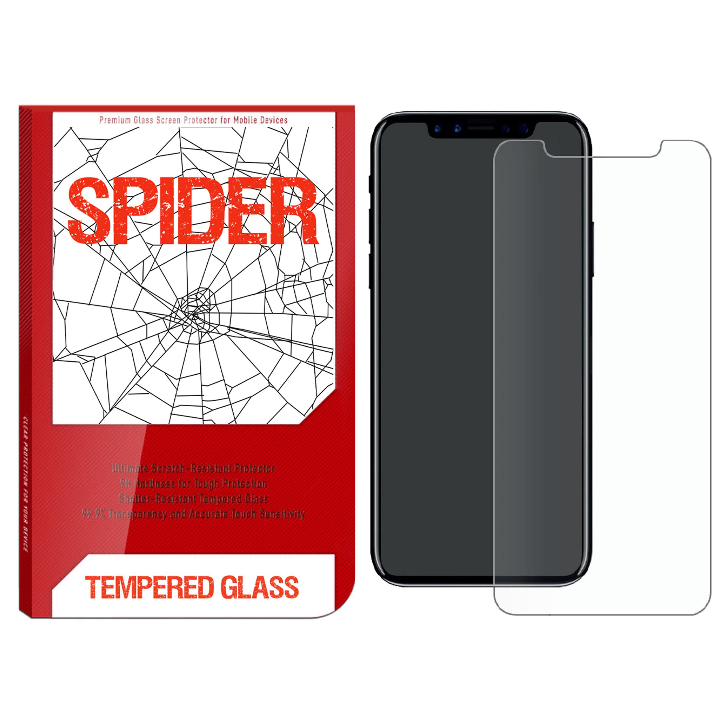 محافظ صفحه نمایش اسپایدر مدل S-TMP11 مناسب برای گوشی موبایل اپل iPhone 11 Pro Max