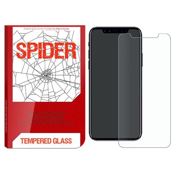 محافظ صفحه نمایش اسپایدر مدل S-TMP11 مناسب برای گوشی موبایل اپل iPhone 11