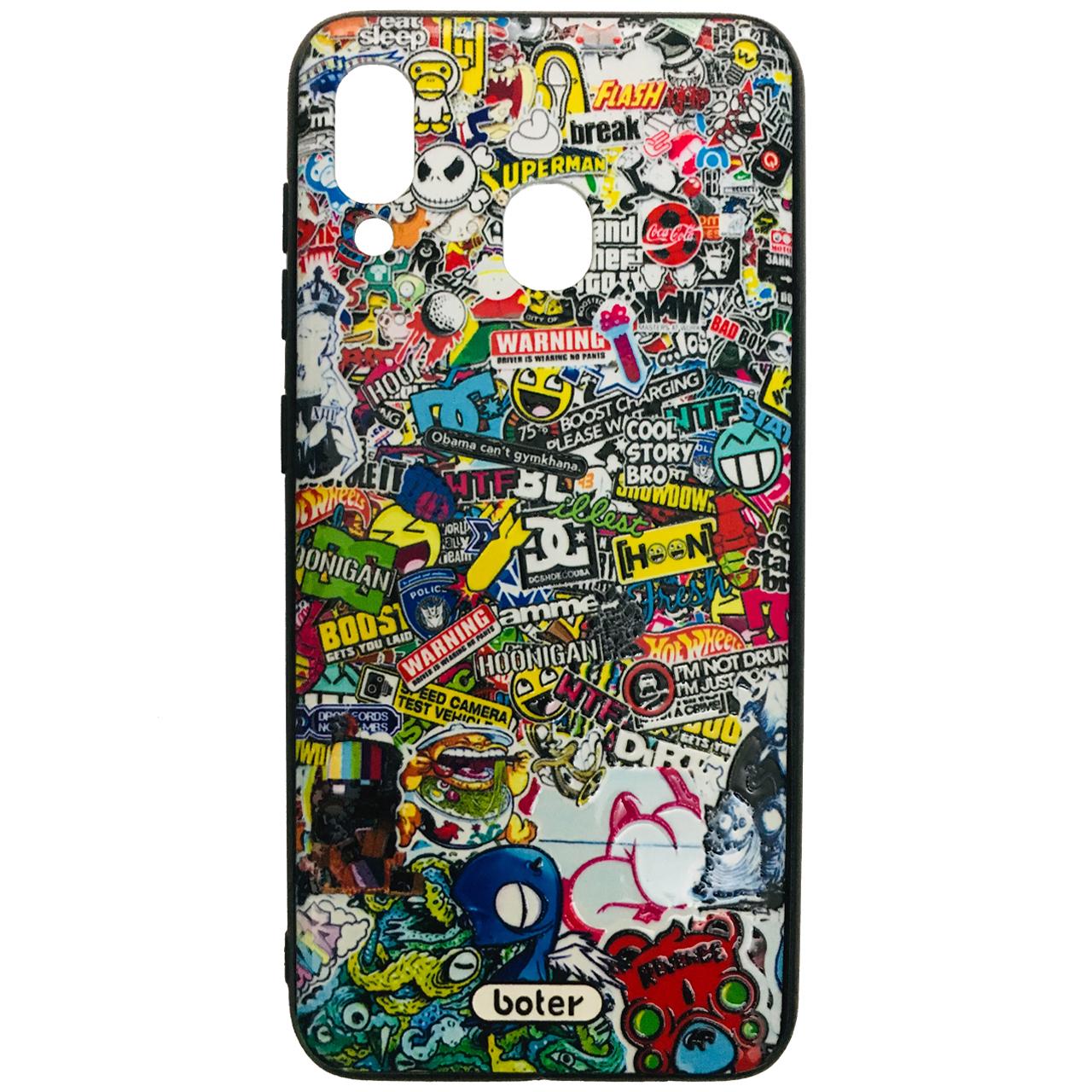 کاور طرح Tangled کد 0612 مناسب برای گوشی موبایل سامسونگ Galaxy A20