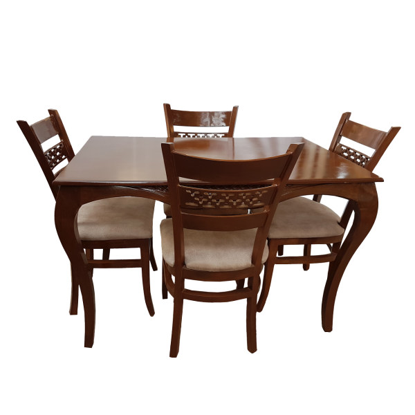 میز و صندلی ناهار خوری مدل ستاره