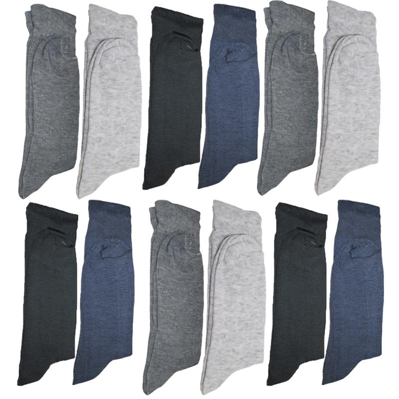 جوراب مردانه کد C12 مجموعه 12 عددی