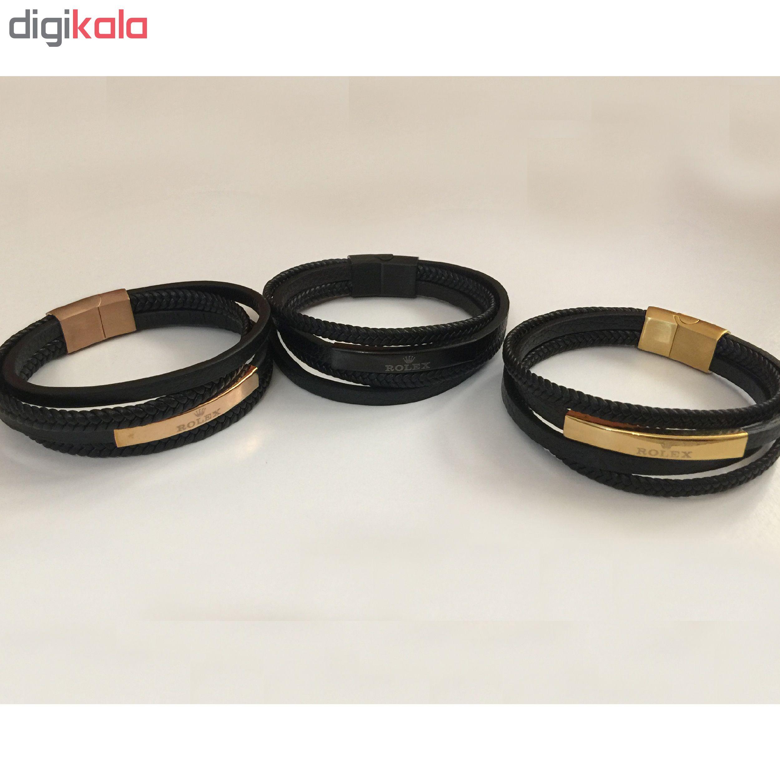 دستبند مردانه کد RX242