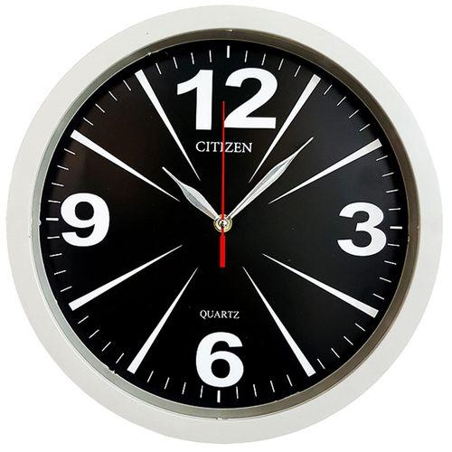 ساعت دیواری سیتیزن طرح خطی 2 کد 146147