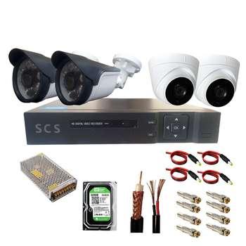 سیستم امنیتی آنالوگ مدل EP4SCS