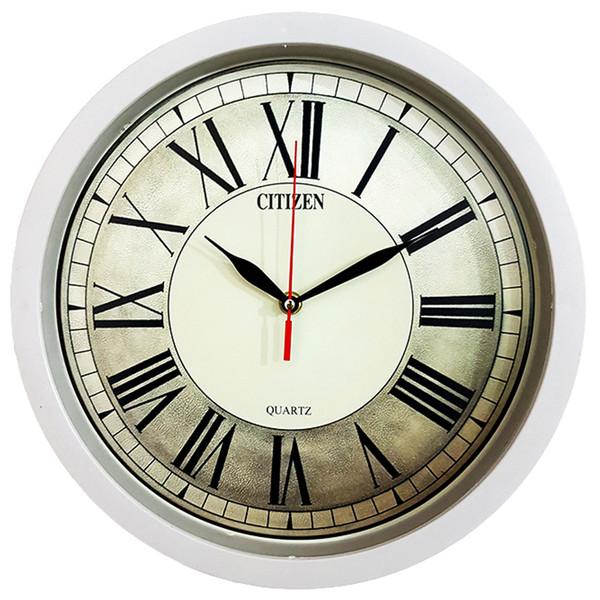 ساعت دیواری سیتیزن طرح سایه روشن کد 102134151