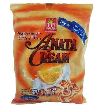 آبنبات خامه ای پرتقالی آناتا مقدار 960 گرم
