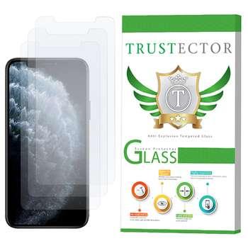 محافظ صفحه نمایش تراستکتور مدل GLS مناسب برای گوشی موبایل اپل iPhone 11 Pro بسته 3 عددی