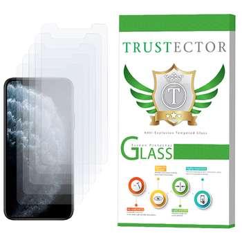 محافظ صفحه نمایش تراستکتور مدل GLS مناسب برای گوشی موبایل اپل iPhone 11 Pro Max بسته 5 عددی