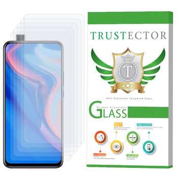 محافظ صفحه نمایش تراستکتور مدل GLS مناسب برای گوشی موبایل هوآوی Y9 Prime 2019 بسته 5 عددی