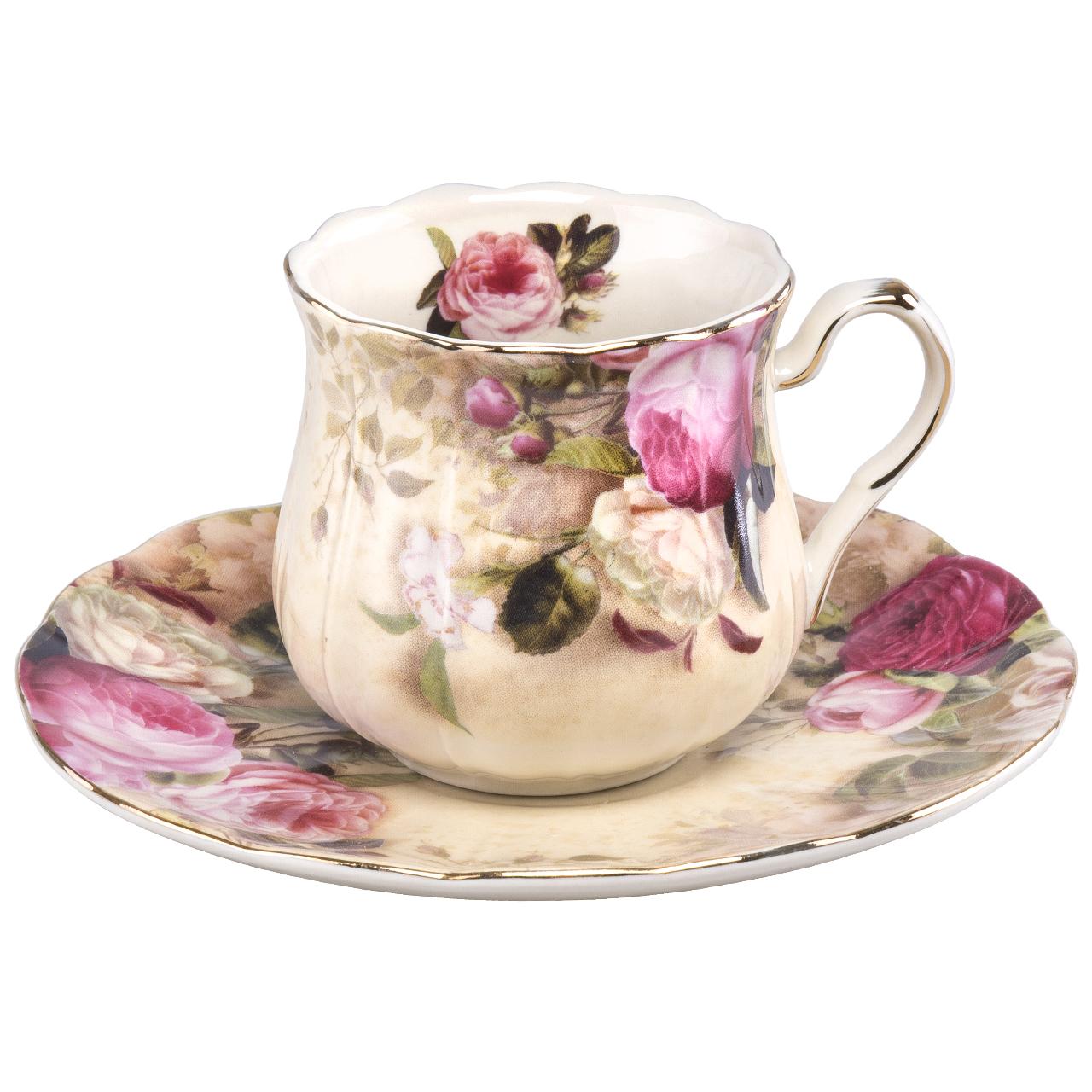 عکس سرویس چای خوری 12 پارچه کد 1036