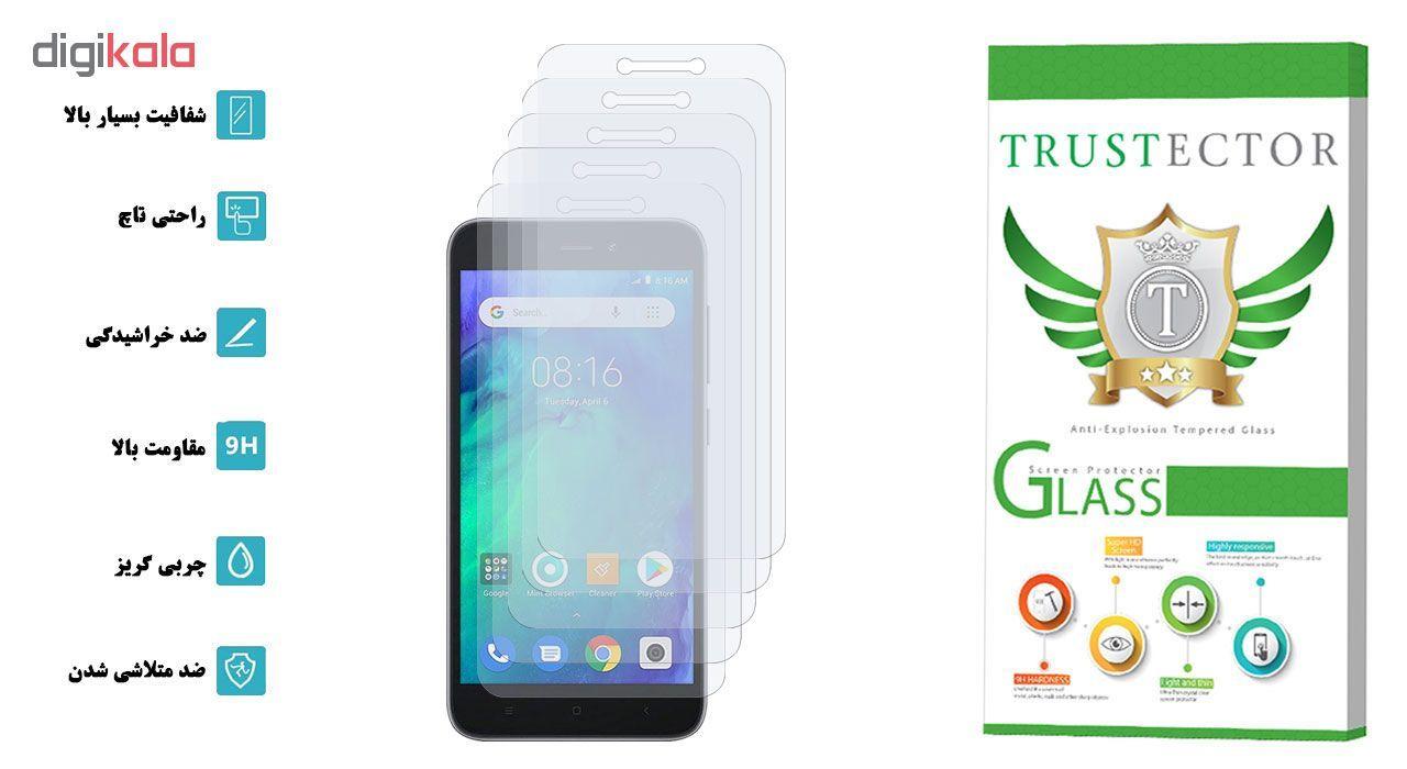 محافظ صفحه نمایش تراستکتور مدل GLS مناسب برای گوشی موبایل شیائومی Redmi Go بسته 5 عددی main 1 2