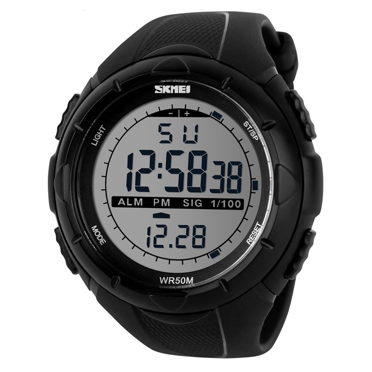 ساعت مچی عقربه ای مردانه اسکمی مدل S1025/Black