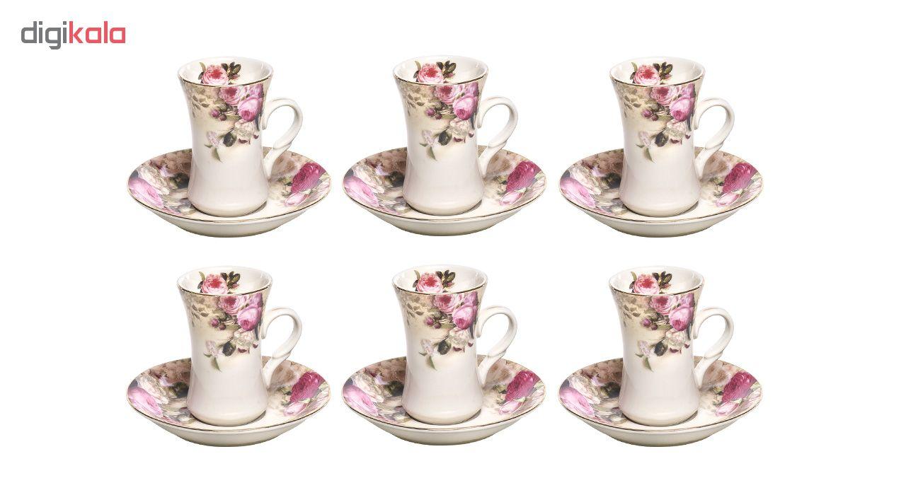 سرویس چای خوری 12 پارچه کد 1035