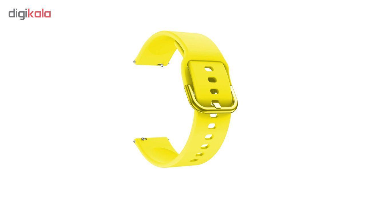 بند مدل Si-42 مناسب برای ساعت هوشمند سامسونگ Gear S2 Classic / Galaxy Watch Active main 1 1